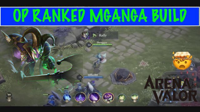 OP RANKED MGANGA BUILD | Arena of Valor (AOV) Nintendo Switch Gameplay