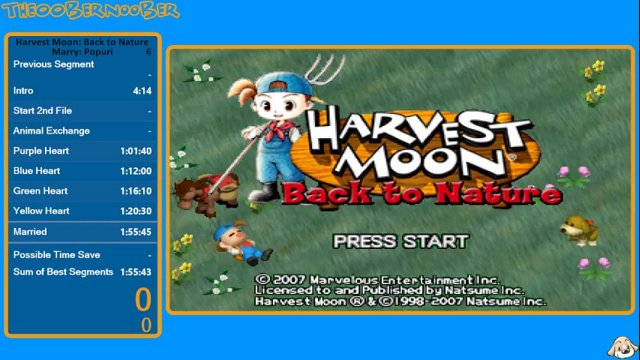 The00bernoober Wr Harvest Moon Back To Nature Marry Popuri In 1