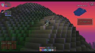 Cube World - lvl 16 Ninja Rogue Soloing Boss