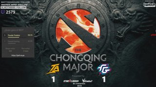 [ESP/Perú] ⭐The Chongqing Major / Thunder Predator vs Team Secret / BO3 — Mr.Choco⭐