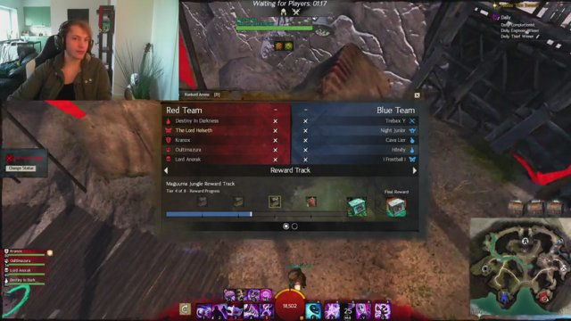 GW2 solo Arena matchmaking