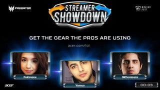 Streamer Showdown #17 LoL Edition w/ Pokimane, Yassuo, IWillDominate, & MarkZ