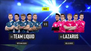 CS:GO - Liquid vs. Lazarus [Nuke] Map 1 - Group B - ESL Pro League Season 9 Americas