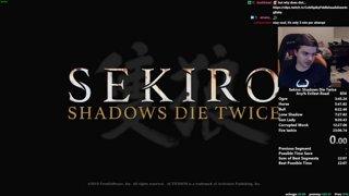 Sekiro Any% Speedrun in 22:57