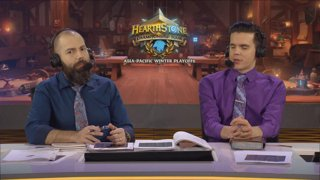 2019 HCT Asia-Pacific Winter Playoffs - Day 1