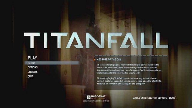 Titanfall hardpoint matchmaking