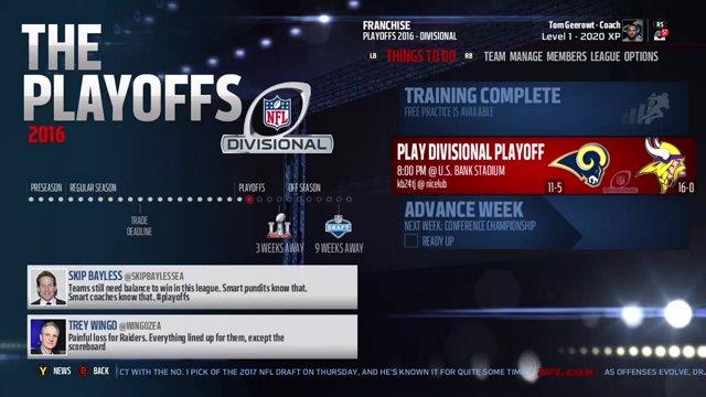 0831b9f0 Divisional Championship : Los Angeles Rams @ Minnesota Vikings