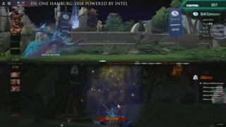 ESL One Hamburg | EG vs Alliance - Game 1