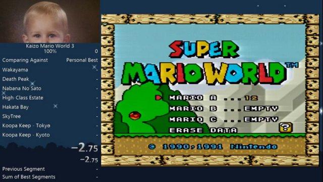Kaizo Mario World 3 - Speedrun in 3:08:17