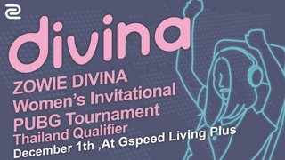 ZOWIE Divina Women's Invitational PUBG Tournament | Thailand Qualifier