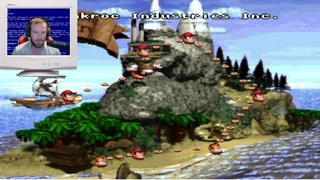 Oil Drum Alley Donkey Kong Country Speed run