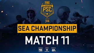[PSC] [TH] JIB PUBG SEA Championship Phase 3  Game 11