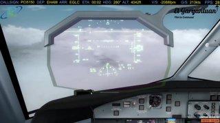 Dash 8 Landing into London City | PAC VA Event