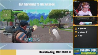 Top Mobile Player | Season 12 HYPE | !discord !prime CREATOR CODE - DuckyTheGamer