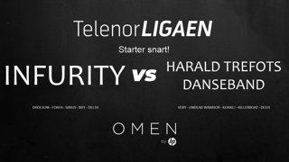 Telenorligaen Høst 2018: CS:GO Runde 1: Infurity vs Harald Trefots Danseband