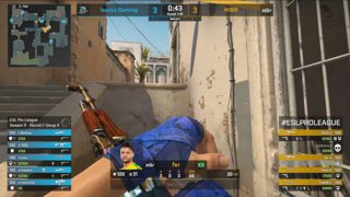 RERUN: CS:GO - Fnatic vs. OpTic [Inferno] Map 1 - Group A - ESL Pro League Season 9 Europe