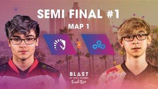 BLAST Pro Series Los Angeles 2019 - Front Row - Semi-Final - Team Liquid Vs. Cloud9 - map 1