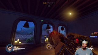 OVERWATCH 45 ELIMINATIONS PHARAH MASTER
