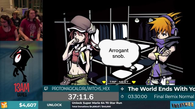 Calithon 2019: The World Ends With You Final Mix Normal, with  ProtoMagicalGirl, Witchs_Hex  Part 2