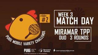 PUBG Mobile Variety Challenge #2 Event Week 3