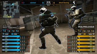 [PT-BR] eUnited vs. Ghost | ESL Pro League 2019 | Dia 16 - [Mapa 2 - DUST2]