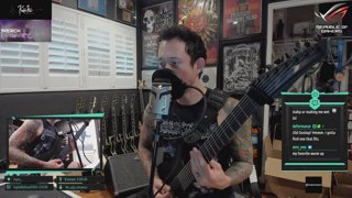 Matt Heafy [Trivium]  | The ok-est gamer on twitch/ The decent-est singer-guitarist though [!merch]