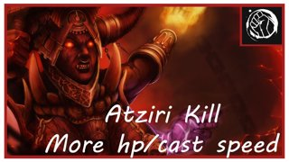 Atziri Kill | Убийство Атзири PoeBota League