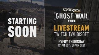 Ghost Recon Wildlands Community Hangout stream