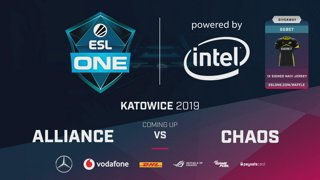 LIVE: Alliance vs Aster - Groupstage - ESL One Katowice 2019