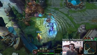 GrandMasters Kled 1v9's a 4v5 in EUW with 120+ Ping! l 18/2/6
