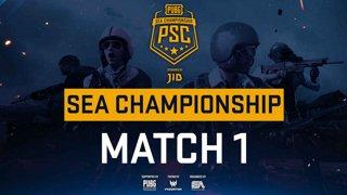 [PSC] [TH] JIB PUBG SEA Championship Phase 3  Game 1