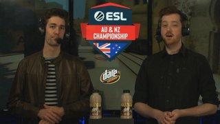 LIVE: ESL AUNZ Championship 2019 - CS:GO: Stage 2, Matchday #6 | pro.eslgaming.com/anz