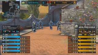 CS:GO - Fnatic vs. OpTic [Inferno] Map 1 - Group A - ESL Pro League Season 9 Europe