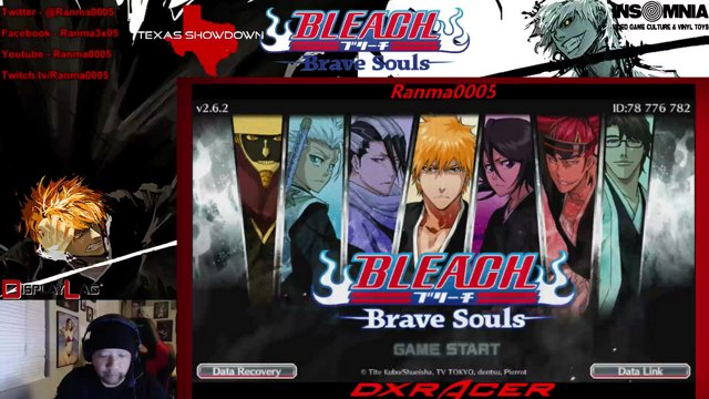 bleach brave souls recover account