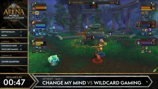 AWC Summer Cup #1 | EU Top 8 | Change My Mind vs Wildcard Gaming