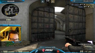 CS:GO - zonixx awesome 1on5 USP-S ACE