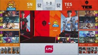 RNG vs. V5 - SN vs. TES   Week 8 Day 1   LPL Summer Split (2019)