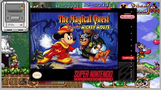 Dennsen86 - Mickey Mouse Magical Quest (SNES) - Twitch