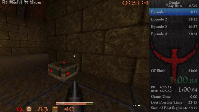 LifeL1ke - Quake Speedrunners in 23:11