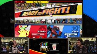 SSC 2019 SSBU - PG ESAM (Pikachu) VS THOR Raffi-X (ROB) Smash Ultimate Winner's Top 24