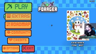 Forager Stream #3 - ADDICTED TO FORAGER!