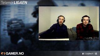 Telenorligaen: Vår 2016 - Counter-Strike: GO - Runde 1 - Celestial Gaming vs. Panters - Kamp 1