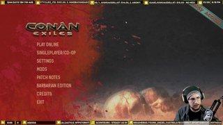 Crusader Plays Conan Exiles Part 1