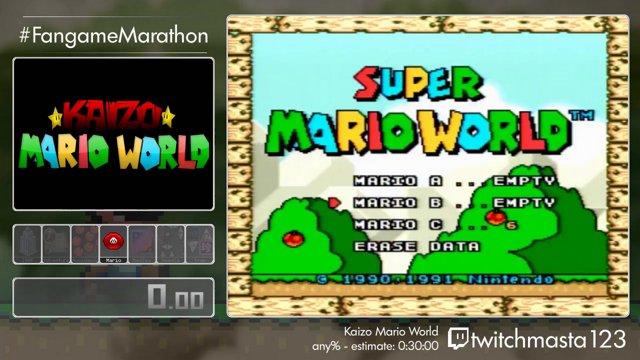 FM 2018 Run 39 - Kaizo Mario World Any% by Twitchmasta123
