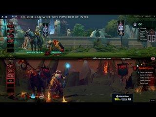 видео: 2 Gambit -vs- OG (1-0)   Esl One Katowice 2019. Комментирует Adekvat