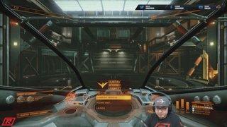 Стрим Elite Dangerous amd #AMDStreamTeam Sonuchi Flying in Space Again