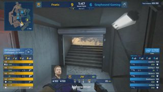 RERUN: Fnatic vs. ViCi [Overpass] Swiss Round 1 - Challenger Stage - IEM Katowice 2019