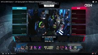 Afreeca vs MVP Wildcard Game1 VOD Review ft. Sam Sung
