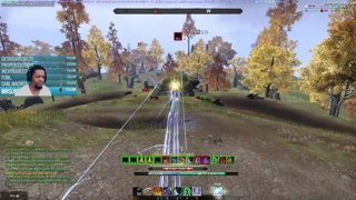 ESO PVP LOL MOMENT FROM THE STREAM!