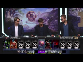 видео: 3 7:00 MSK   EHOME vs Royal Never Give Up   TI9: CN Closed Qualifier   bo3 by Adekvat & Eiritel